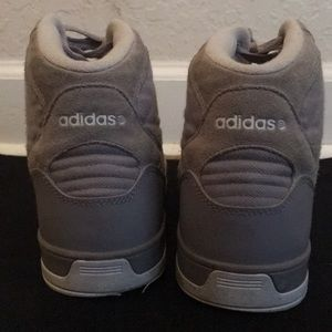 High Off Top Aluminumwhite Sneaker Shoes Neo Adidas 33 Raleigh UCwFqFT